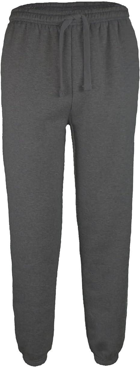 LOTMART para Hombre Plain chándal Pantalones Polar Jogging ...