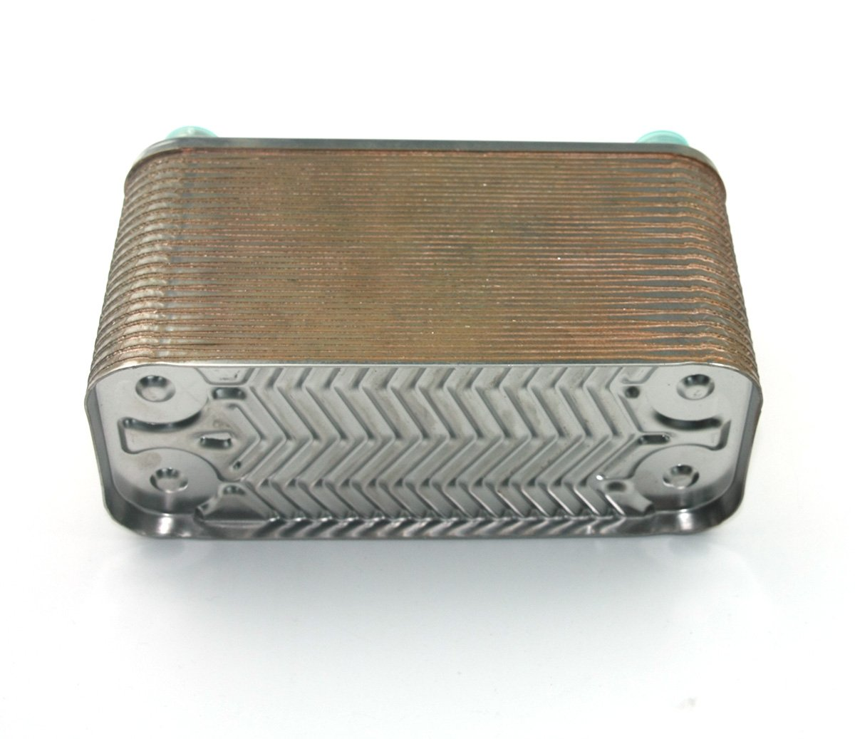 refroidisseur de bi/ère en acier inoxydable raccord de type gaz R 1//2X RC 1//2 X Echangeur de chaleur bras/é /à 40 plaques et refroidisseur de mo/ût Ch 40 plaques Refroidisseur de mo/ût bras/é au cuivre