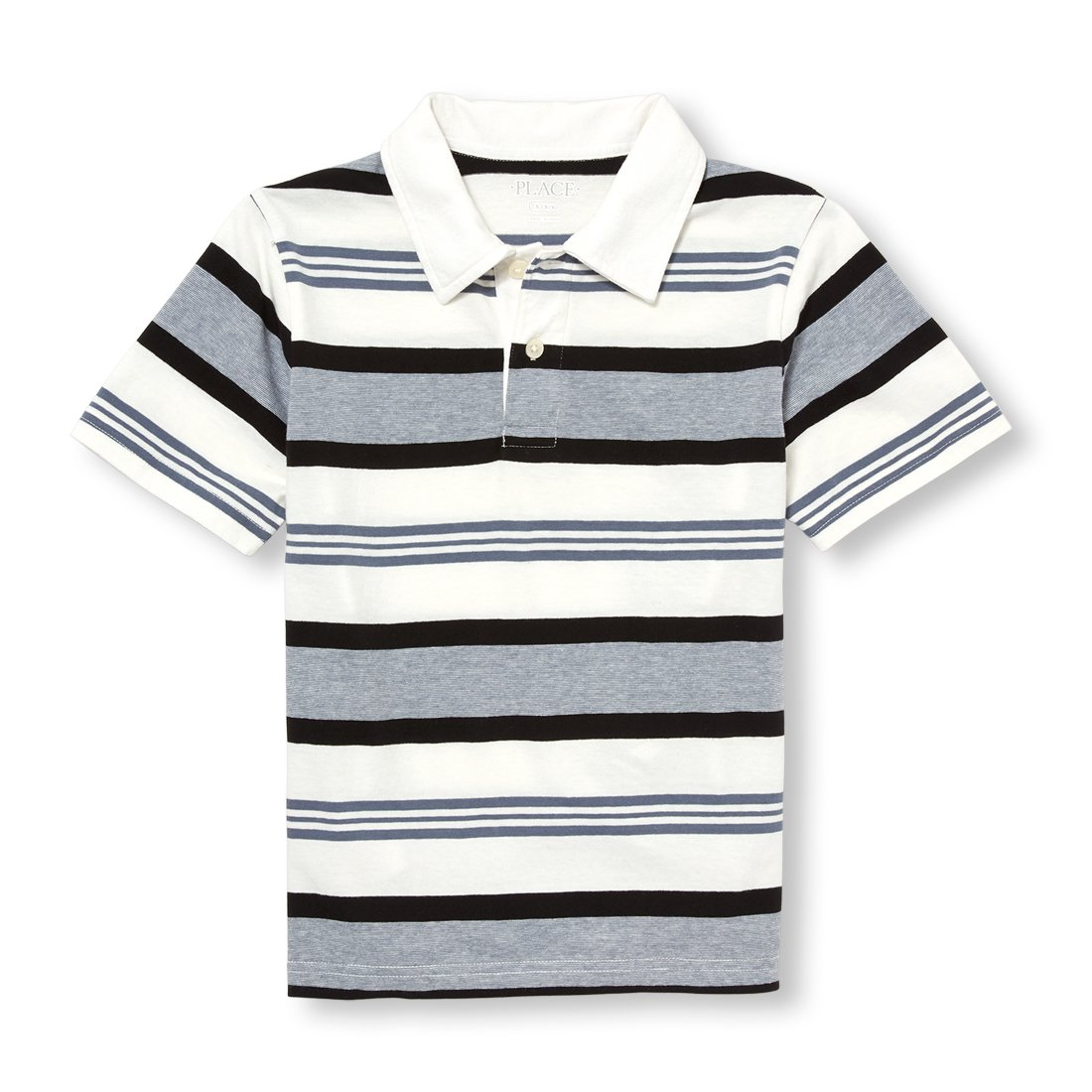 The Children's Place Boys' Three Color Striped Polo The Children's Place