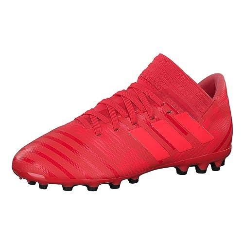 Adidas Nemeziz 17.3 AG J, Botas de fútbol Unisex niño, Naranja (Correa/