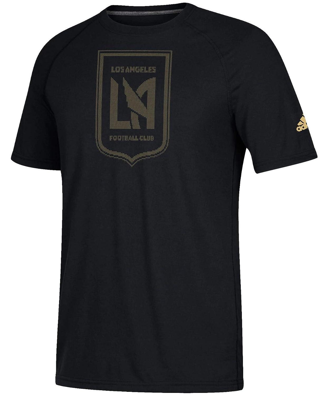 huge discount 521d2 f51a9 adidas Los Angeles Football Club LAFC Men's Ultimate Performance Black  T-Shirt