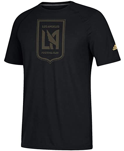 5e03013a5 adidas Los Angeles Football Club LAFC Men s Ultimate Performance Black T- Shirt (Small)