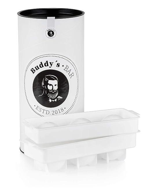 Compra Buddys Bar - Moldeador de Bolas de Hielo, Forma irrompible ...