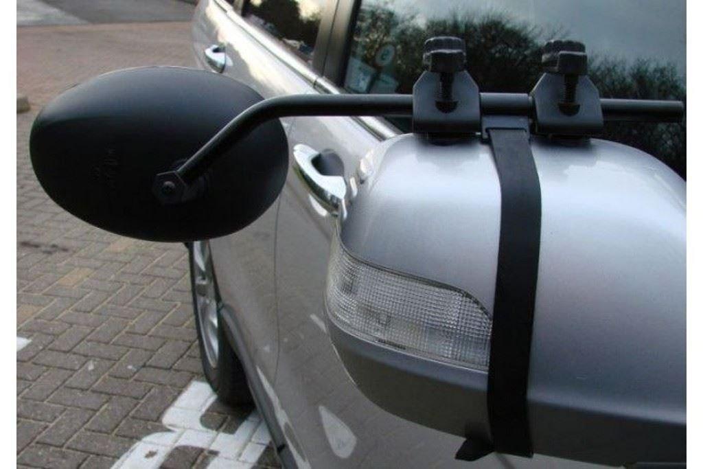 Range Rover Sport Caravan Trailer Extension Towing Oval Dual Mirror Convex Pair