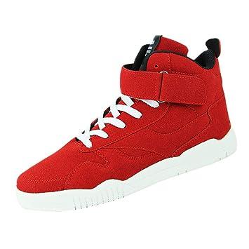 LuckyGirls Zapatillas de Correr para Hombre Baloncesto Calzado de Caña Alta de Deporte Zapatos Deportivos Bambas