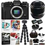 Fujifilm X-T20 Camera Body (Black) with F60mm f/2.4 Macro Lens and Software Bundle