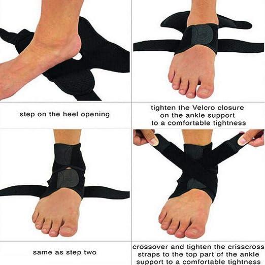Gfone Protettore Esterno Professionale per Caviglia Professionale  Resistente alla Caviglia Ginocchiere  Amazon.it  Sport e tempo libero c4539b230dee
