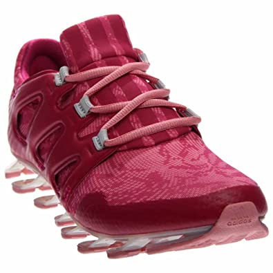 adidas Springblade Pro Womens Running-Shoes Q16423 9.5 - Super Pop Bold Pink dd56e03f91