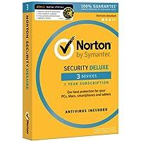 Norton Security Deluxe - 3 Devices + Norton Utilities (for 3 PCs) Bundle