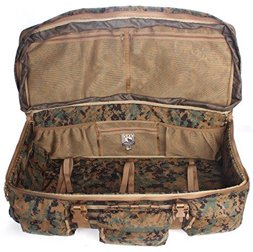 076cbdc8b8f5 Sandpiper of California Digital Woodland Rolling Loadout Luggage X-Large Bag