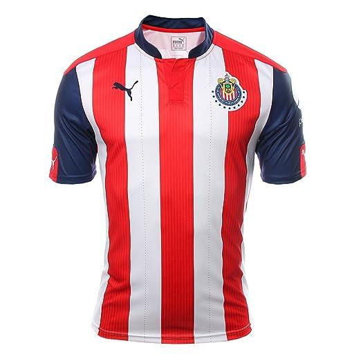 287bcc925 Amazon.com : NEW Chivas de Guadalajara Home Jersey 16/17 Mens (Large ...