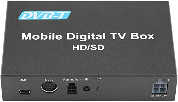 DVB-T HD/SD Mobile Car Digital TV Box Sintonizador de TV Alta ...