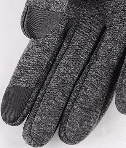 Foucome レディース 防寒 手袋 スマホ対応 グローブ 冬 裏起毛 タッチパネル対応 自転車 バイク アウトドア 通勤に