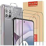 [5-Pack] PULEN for Motorola Moto G 5G/Motorola One 5G Ace/Motorola One 5G UW Ace Screen Protector 3 Packs with 2 Packs Camera
