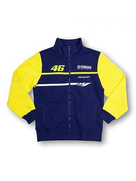 Valentino Rossi Chaqueta niño Yamaha Track Azul-Amarillo ...