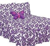 JORGE'S HOME FASHION Butterfly Purple Kids