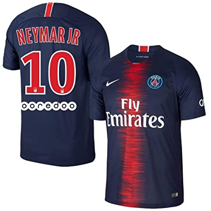Amazon.com   PSG Home Neymar Jr 10 Jersey 2018 2019 (Official ... fd5ab11b95a