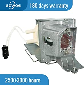 Gzwog BL-FP190D/SP.73701GC01 NP36LP MC.JH111.001 MC.JH011.001 Replacement Projector Lamp Bulb with Housing for OPTOMA S310X W312 X312 NEC NP-V302W/V302X ACER P1283 P1383W X113H X113PH X1383WH X113