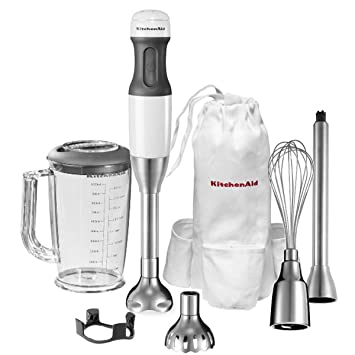 KitchenAid 5KHB2531EWH - Batidora, con capacidad de 1 litro, color blanco: Amazon.es: Hogar