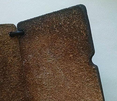Leather PLATN Brown PLATN Wallet Men's Men's Brown Leather Minimalist Minimalist TawgnxfIP