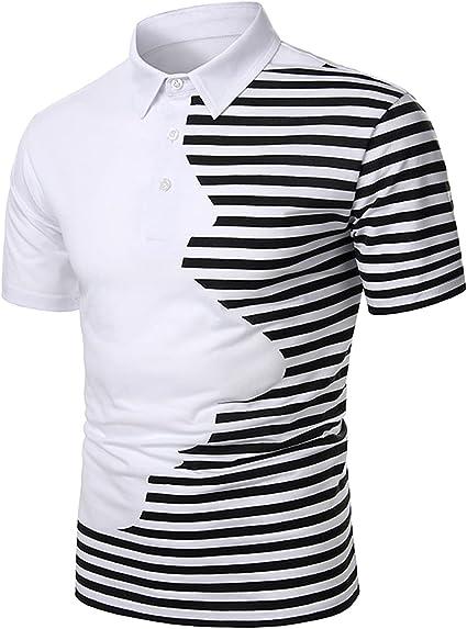 YUSWPX Camiseta Hombres Camisa de Manga Corta Camiseta ...