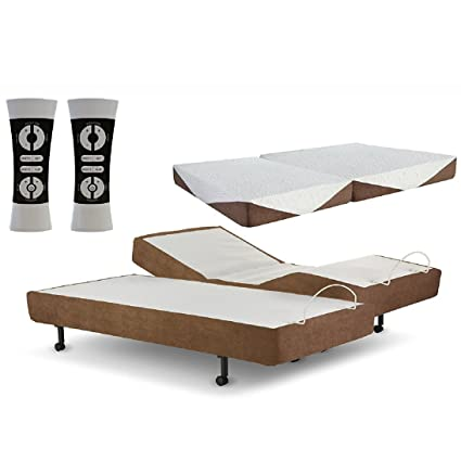 Amazon Com Zero Gravity G Force Split King Adjustable Bed State Of