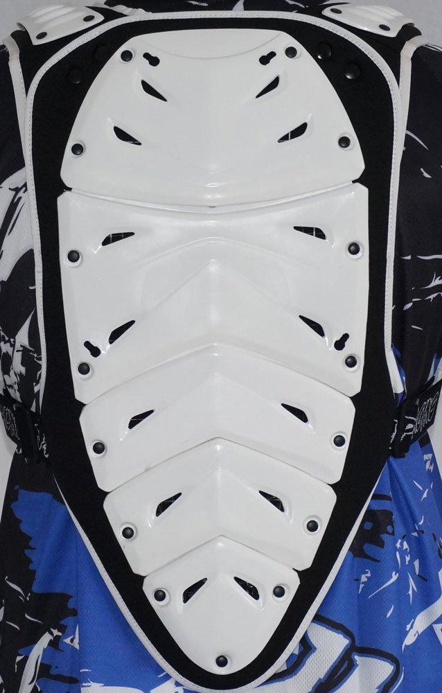 PARE PIERRE PLASTRON MOTO CROSS QUAD VTT BMX MTB JLP RACING TAILLE S-M