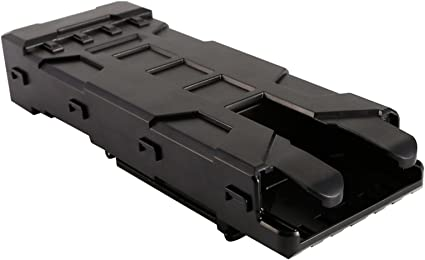 Tactical MOLLE 10pcs 12 Gauge Shotgun Magazine Shell Plastic Ammo Pouch Carrier