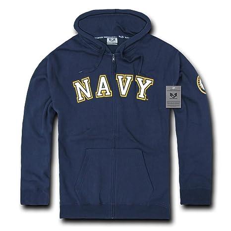 Amazon.com : Rapiddominance US Navy Full Zip Hoodie : Camouflage ...