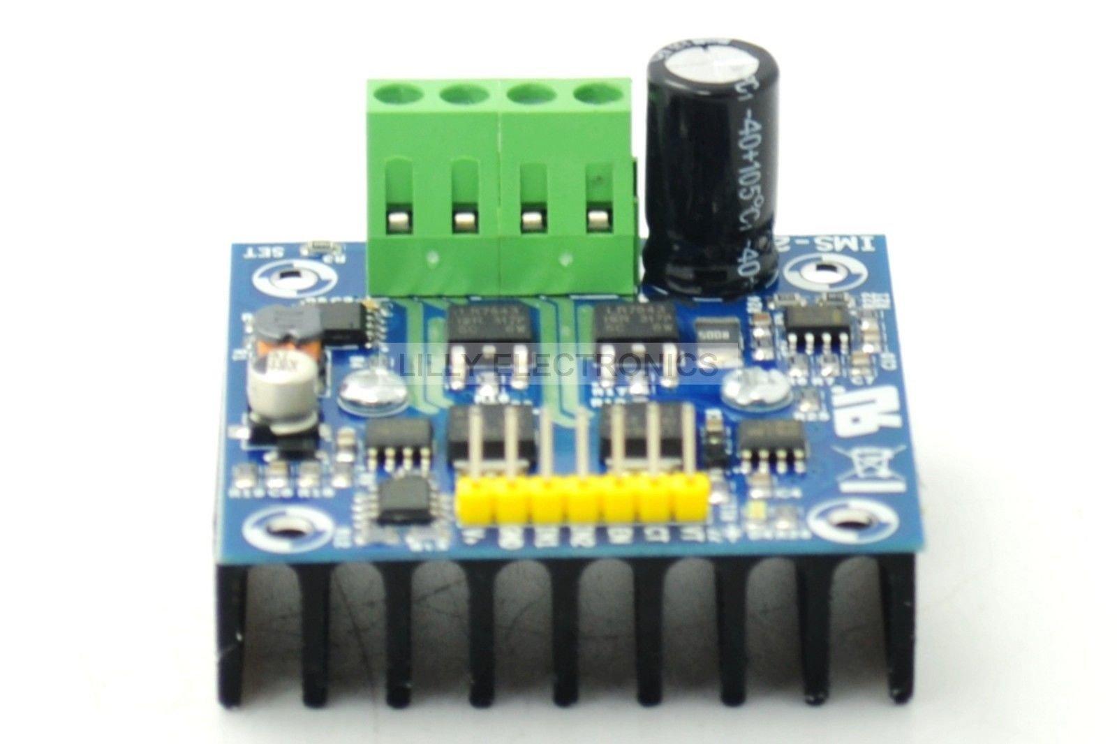 IMS-2B/Arduino 50A Super H-bridge Motor Driver Module Reversing Strong Brakes