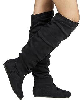 Amazon.com | West Blvd Womens Bangkok Thigh High Over The Knee ...