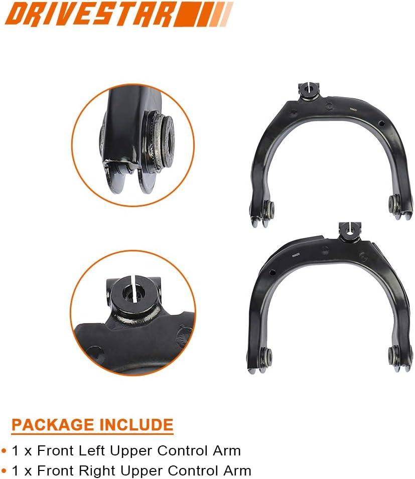 for Chevrolet SSR//Trailblazer//Trailblazer EXT for GMC Envoy//Envoy XL//Envoy XUV for Oldsmobile Bravada for Buick Rainier for Isuzu Ascender DRIVESTAR CAK1011 Control Arm Kit 8 Pcs