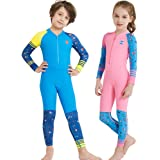 YIFEIKU Co.,Ltd. Kids Swimsuits One Piece Neoprene Wet Suits for Boys Girls Long Sleeve UPF50+ Quick Dry Swimming Wear