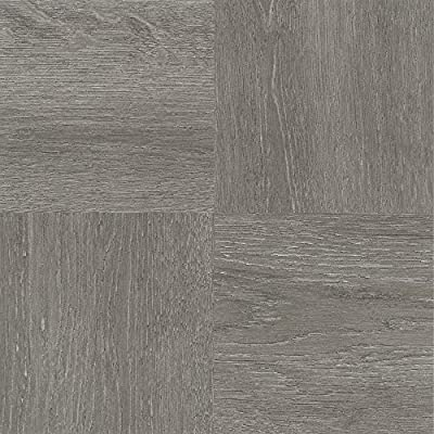 "Achim Home Furnishings FTVWD22920 Nexus Self Adhesive 20 Vinyl Floor Tiles, 12"" x 12"", Charcoal Grey Wood"