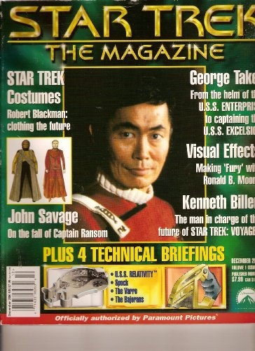 Costumes Star Book Trek (Star Trek the Magazine (Costumes from Star Trek; Geoge Takei, December 2000)