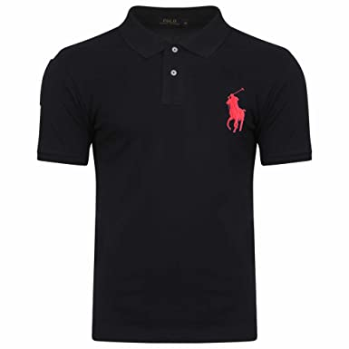 2e79d3d3d719 Ralph Lauren Polo Shirt. Short Sleeve. Big Pony. Custom Fit. (M ...