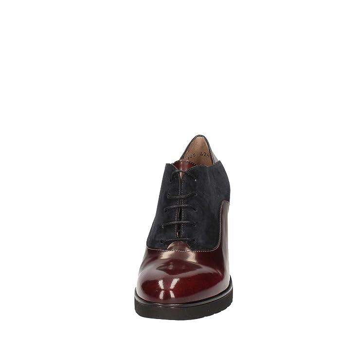Melluso L5145 Lace Up Shoes Mujer Bordeaux 36 6guJR79