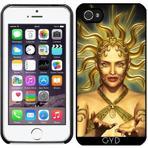Coque pour Iphone 5/5S - Or Déesse Du Soleil by Britta Glodde