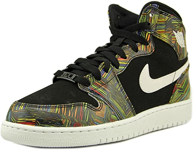 Nike Air Jordan 1 Retro High BHM GG, Zapatillas de Running para ...