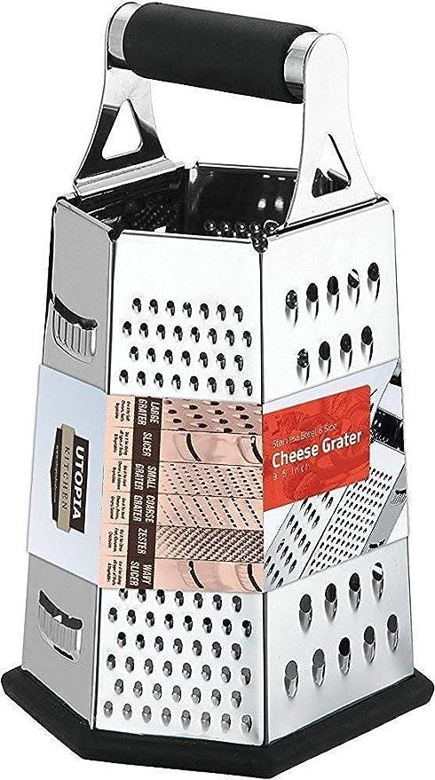 Amazon.com: Rallador de queso y cortador de verduras Utopia ...