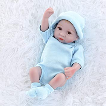 HONGRO DOLL Realistica Bambole Reborn Maschio, 25 cm Reborn