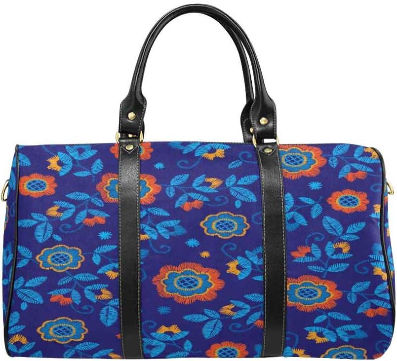 InterestPrint Carry-on Garment Bag Travel Bag Duffel Bag Weekend Bag Ethnic Handmade Style