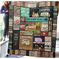 This is How We Roll Camping Blanket Quilt