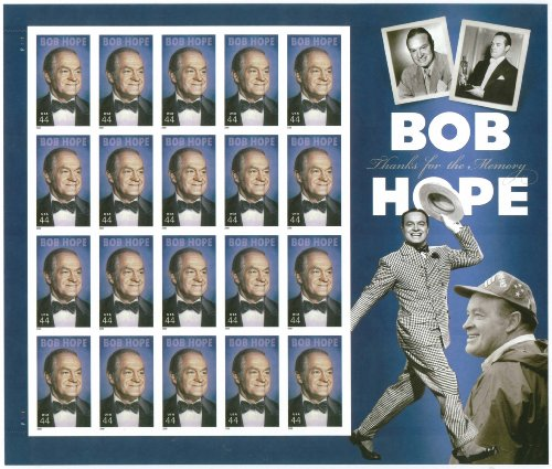 Bob Hope Thanks for the Memory Mint Sheet of Twenty 44 Cent Stamps Scott 4406 by USPS