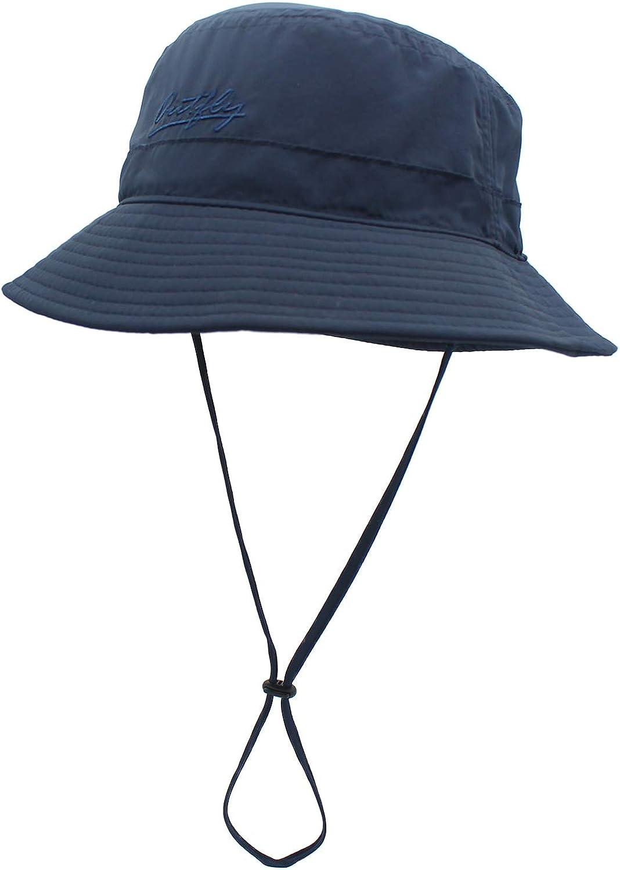 LSF 50+ UV-Schutz Blau Sonnenhut QingFang Sommerhut f/ür Damen und Herren schnelltrocknend Strandhut