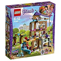 LEGO 41340 Friends Heartlake Friendship House Building Set, Olivia Emma and Andrea Mini Dolls, Build and Play Fun Toy