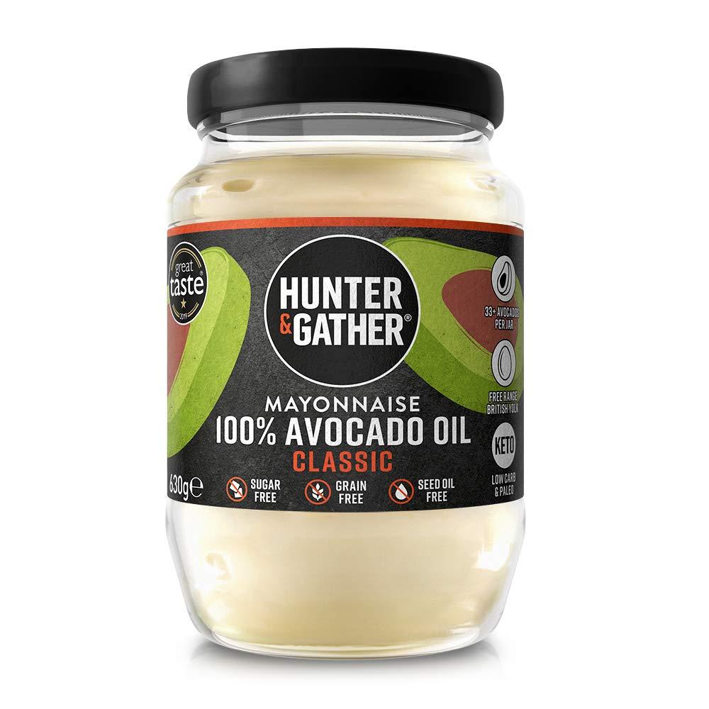 Avocadoöl gluten- und zuckerfreie Mayonnaise