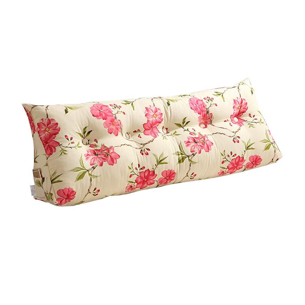 当社の ベッドサイド Sofa Bedside Large Filled Triangular Wedge Cushion - Bed Backrest Positioning Support Pillow Reading Pillow Office Lumbar Pad -Removable And Washable 4 Colors (色 : C, サイズ さいず : 150x22x50cm) B07RJH7D7W 180x22x50cm D D 180x22x50cm, リヴェラール 1d60ff01