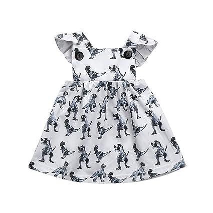 e7ee2483411b6 (プタス)Putars ベビー服 子供服 ワンピース 女の子 恐竜柄 サロペット フリル 可愛い 記念日