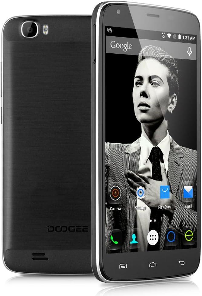 DOOGEE T6 4G LTE Smartphone – 5.5, Android 5.1 Lollipop, MT6735 ...